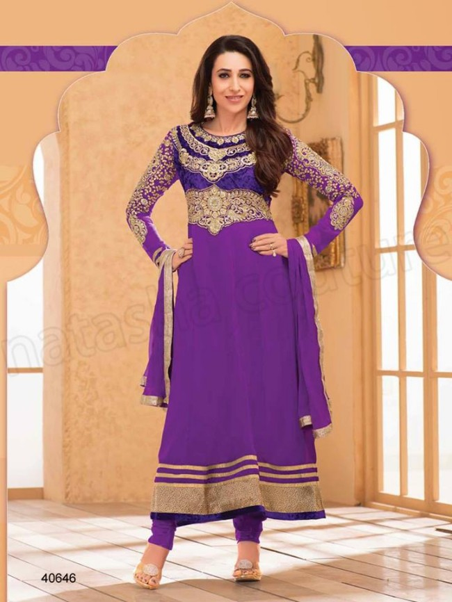 Indian-Bollywood Famous Celebrity Karishma Kapoor Latest Kurtis Dress by Natasha Couture-8
