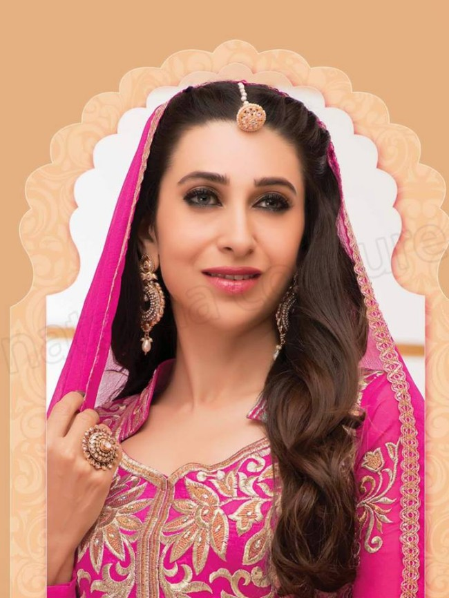 Indian-Bollywood Famous Celebrity Karishma Kapoor Latest Kurtis Dress by Natasha Couture-