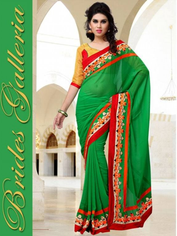Indian Fashion Dress Designer Beautiful Saree New Casual-Formal Party Wear Sari-1