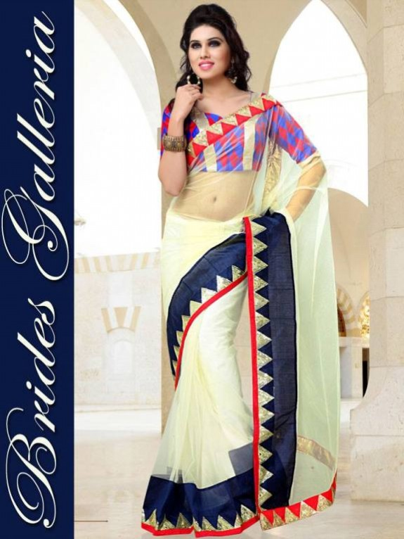 Indian Fashion Dress Designer Beautiful Saree New Casual-Formal Party Wear Sari-3