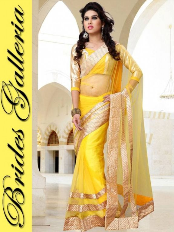 Indian Fashion Dress Designer Beautiful Saree New Casual-Formal Party Wear Sari-4