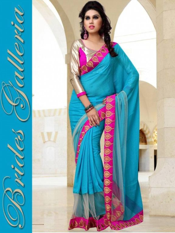 Indian Fashion Dress Designer Beautiful Saree New Casual-Formal Party Wear Sari-5