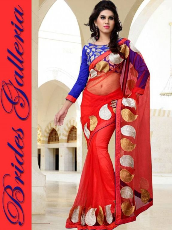 Indian Fashion Dress Designer Beautiful Saree New Casual-Formal Party Wear Sari-6