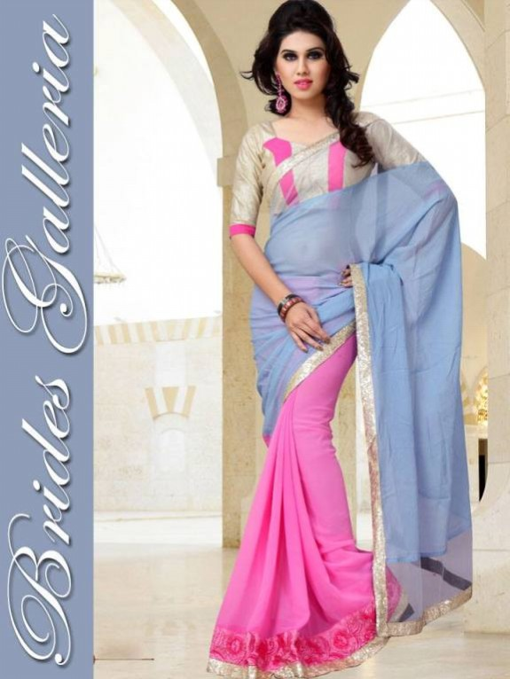 Indian Fashion Dress Designer Beautiful Saree New Casual-Formal Party Wear Sari-7