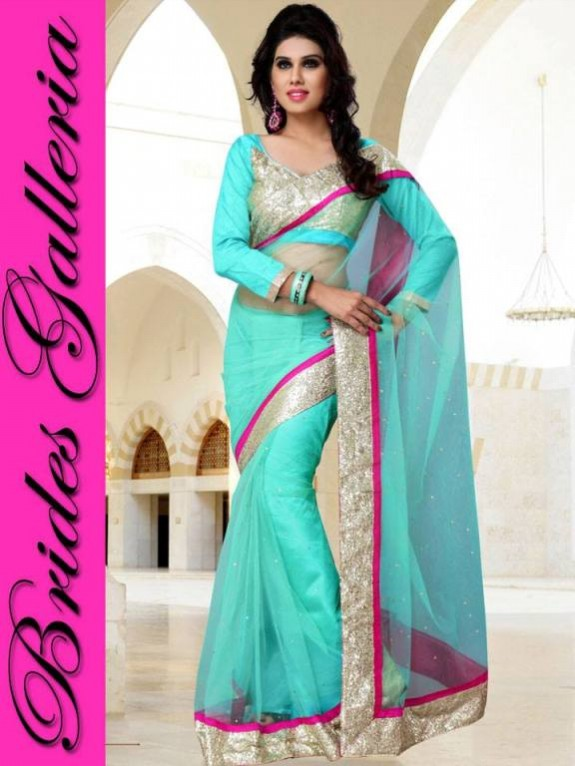 Indian Fashion Dress Designer Beautiful Saree New Casual-Formal Party Wear Sari-