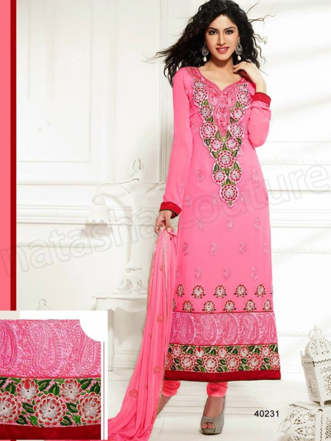 Natasha Couture New Latest Fashion Indian Traditional Anarkali Frocks Suits Teen-Young Girls-3