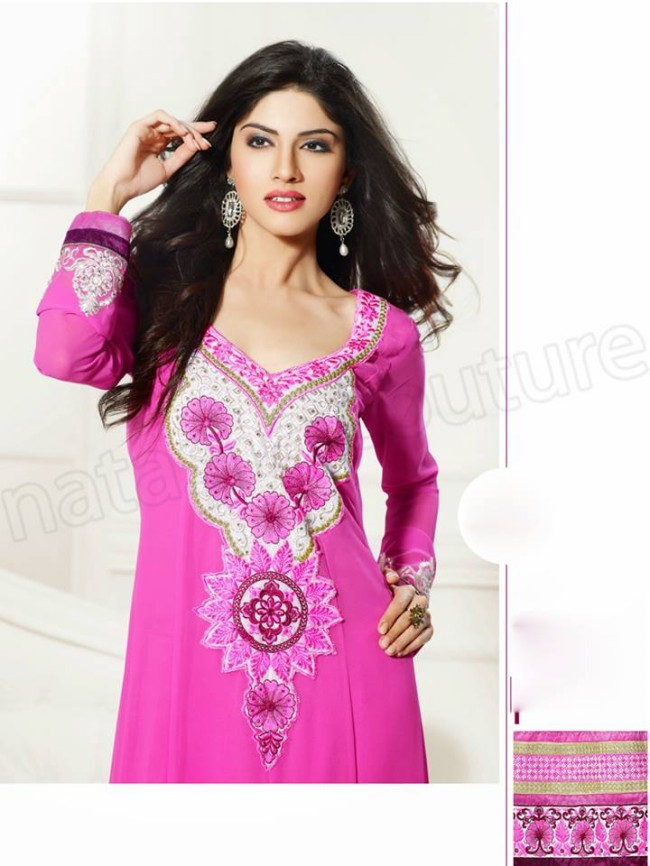 Natasha Couture New Latest Fashion Indian Traditional Anarkali Frocks Suits Teen-Young Girls-4