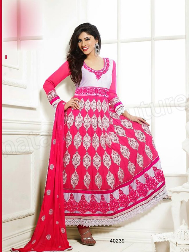 Natasha Couture New Latest Fashion Indian Traditional Anarkali Frocks Suits Teen-Young Girls-5