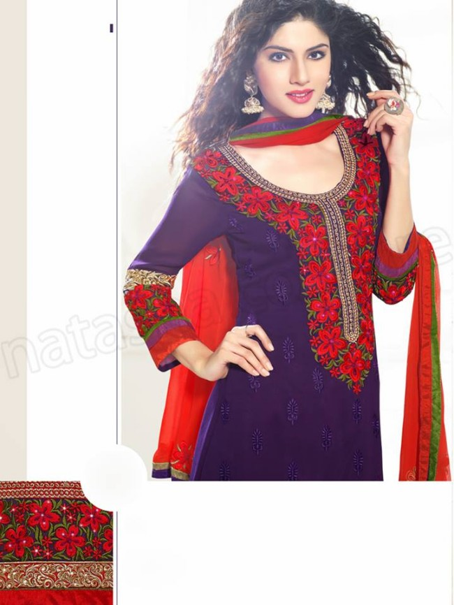 Natasha Couture New Latest Fashion Indian Traditional Anarkali Frocks Suits Teen-Young Girls-6