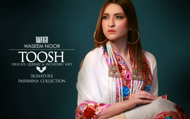 New Latest Fashion Pashmina Winter Wear Dress by Waseem Noor Toosh Signature-4