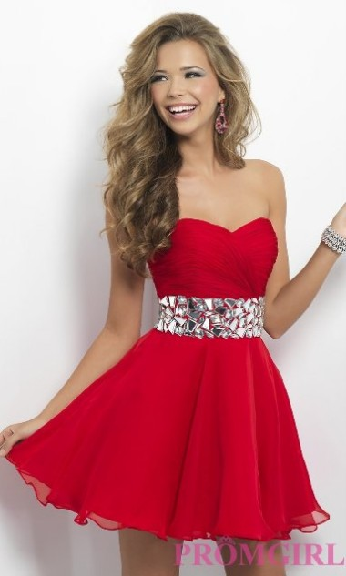 Valentine's Day Western Prom Party Wear New Fashion Dresses For Girls-Women-1