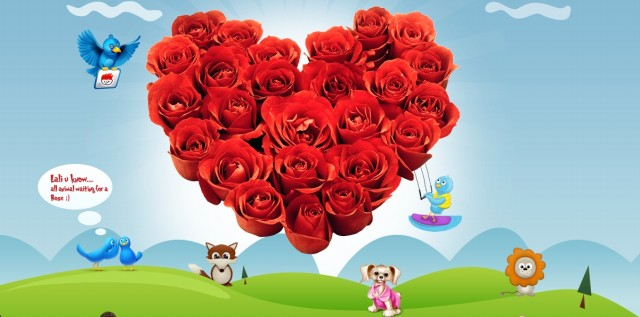 Valentine,s Day Greeting Cards Pictures-Image-Valentine Rose-Flower Day Card Photos-4