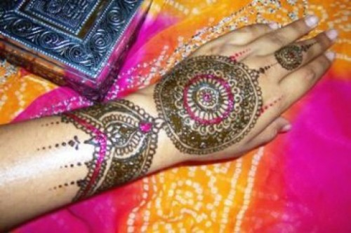 Bridal-Wedding Amazing Latest Henna Mehndi Designs for Girls-Dulhan Hands-11