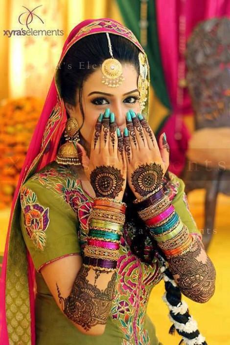 Bridal-Wedding Henna Mehndi Designs New Best Mehndi for Hand-Feet-7