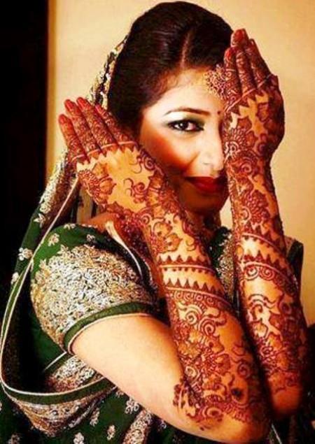 Mehndi For Marriage Girl : Fashion mag bridal wedding henna mehndi designs new