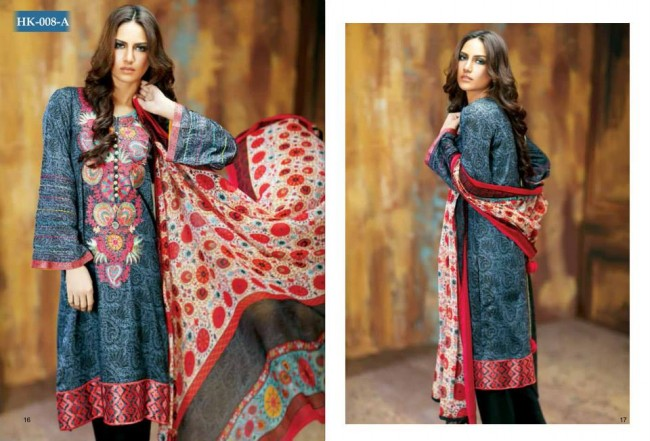 Hadiqa Kiani New Girls-Women Fashion Spring-Summer Wear Dress Vol 1-1