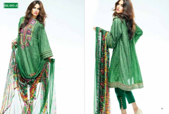 Hadiqa Kiani New Girls-Women Fashion Spring-Summer Wear Dress Vol 1-11
