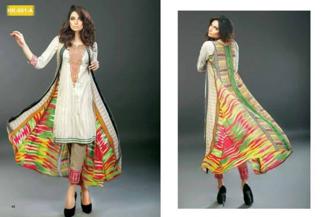 Hadiqa Kiani New Girls-Women Fashion Spring-Summer Wear Dress Vol 1-2