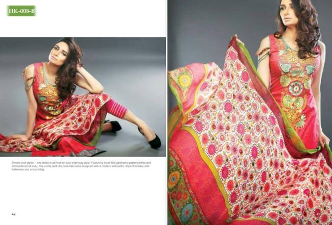 Hadiqa Kiani New Girls-Women Fashion Spring-Summer Wear Dress Vol 1-3
