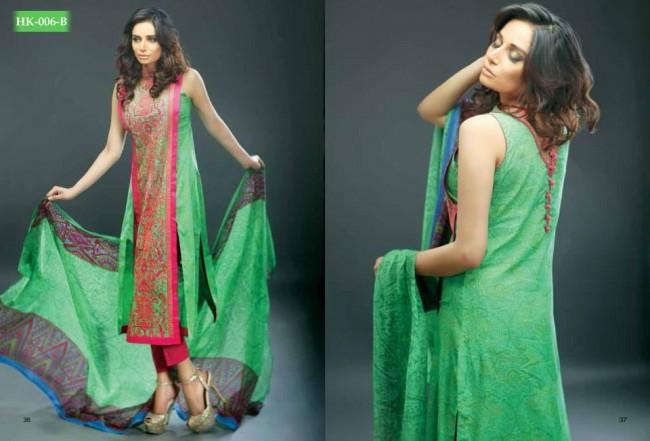 Hadiqa Kiani New Girls-Women Fashion Spring-Summer Wear Dress Vol 1-4
