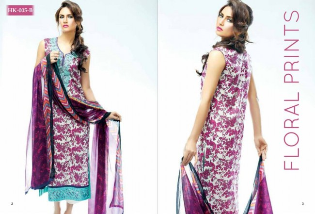 Hadiqa Kiani New Girls-Women Fashion Spring-Summer Wear Dress Vol 1-6