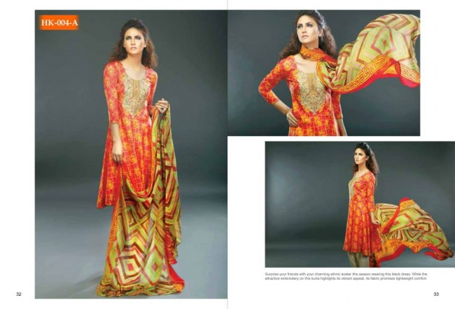 Hadiqa Kiani New Girls-Women Fashion Spring-Summer Wear Dress Vol 1-8