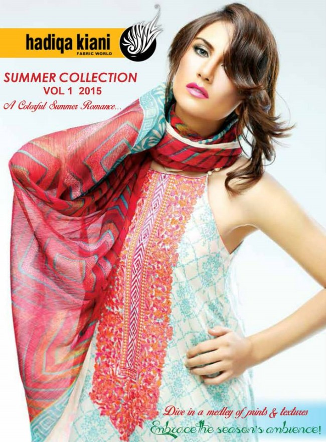 Hadiqa Kiani New Girls-Women Fashion Spring-Summer Wear Dress Vol 1-