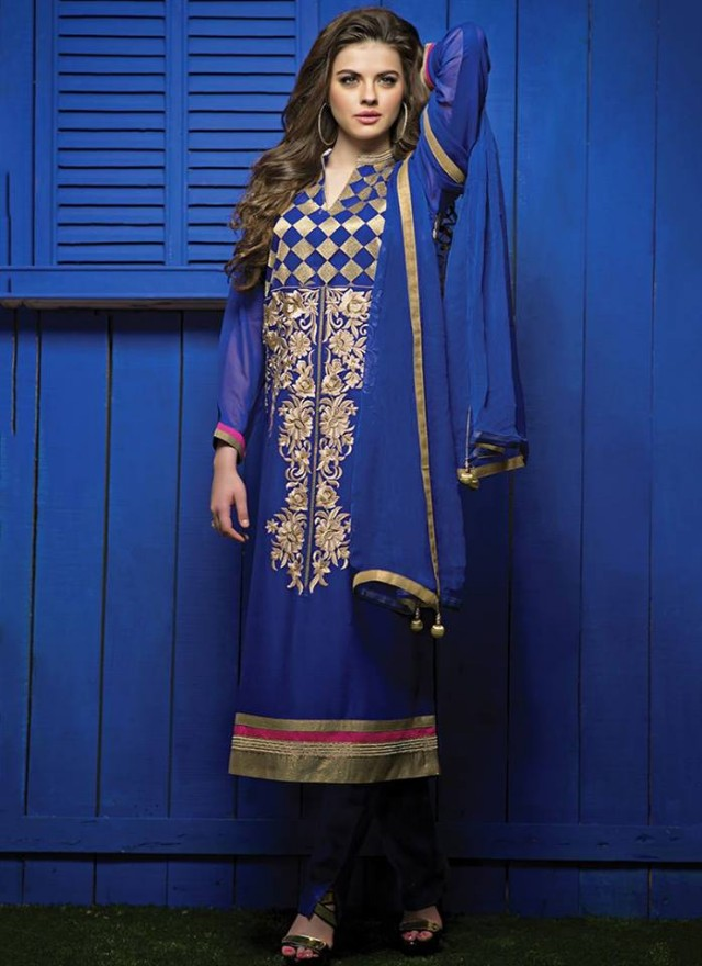 Indian-Bollywood Celebrities-Girls Valentine Day Suits New Fashion Global Style-4