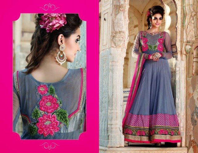 Indian Designer Beautiful Bridesmaids Gown Dresses Designs by Saheli Couture-