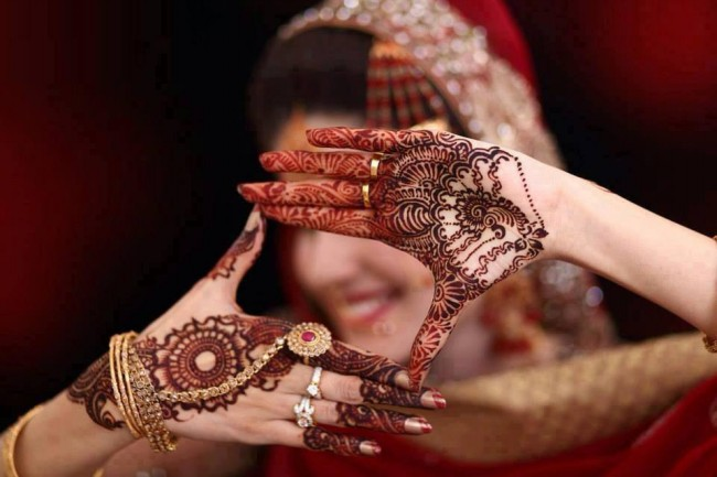 Beautiful Best Wedding-Bridal Henna Mehndi Designs Collection for Brides-Girls-2