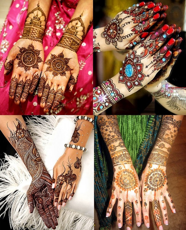 Beautiful Best Wedding-Bridal Henna Mehndi Designs Collection for Brides-Girls-5