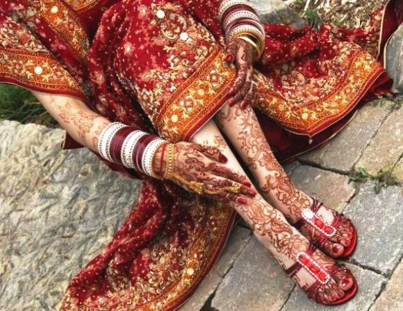 Beautiful Best Wedding-Bridal Henna Mehndi Designs Collection for Brides-Girls-8