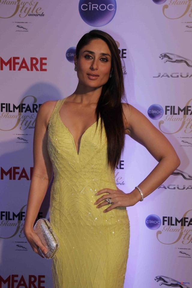 Kareena Kapoor at Ciroc Filmfare Glamour Style Award in Mumbai India Photoshoot-Pictures-2