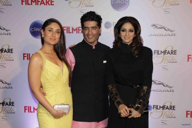 Kareena Kapoor at Ciroc Filmfare Glamour Style Award in Mumbai India Photoshoot-Pictures-