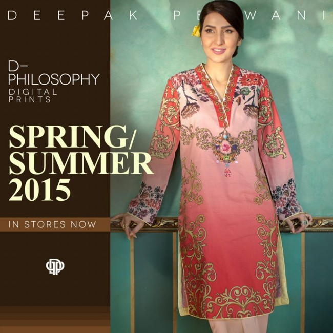 New Fashion Dress Designer Deepak Perwani Spring-Summer Clothes  for Girls-Women-1