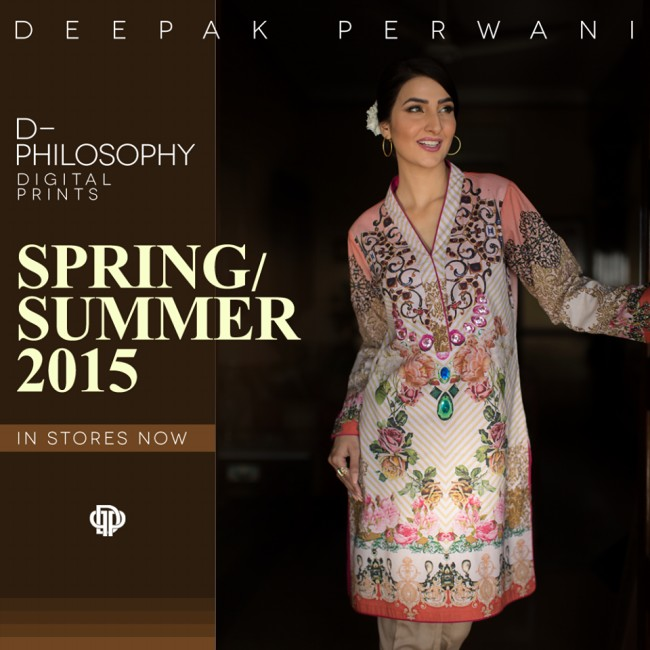 New Fashion Dress Designer Deepak Perwani Spring-Summer Clothes  for Girls-Women-2