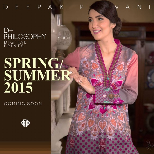 New Fashion Dress Designer Deepak Perwani Spring-Summer Clothes  for Girls-Women-3