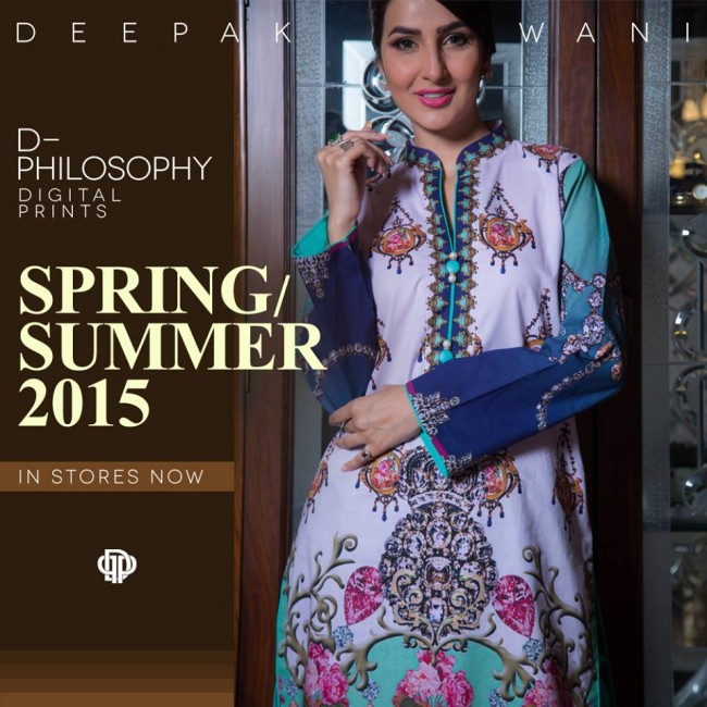 New Fashion Dress Designer Deepak Perwani Spring-Summer Clothes  for Girls-Women-4
