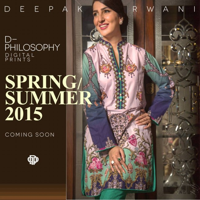 New Fashion Dress Designer Deepak Perwani Spring-Summer Clothes  for Girls-Women-5