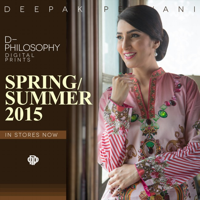 New Fashion Dress Designer Deepak Perwani Spring-Summer Clothes  for Girls-Women-6