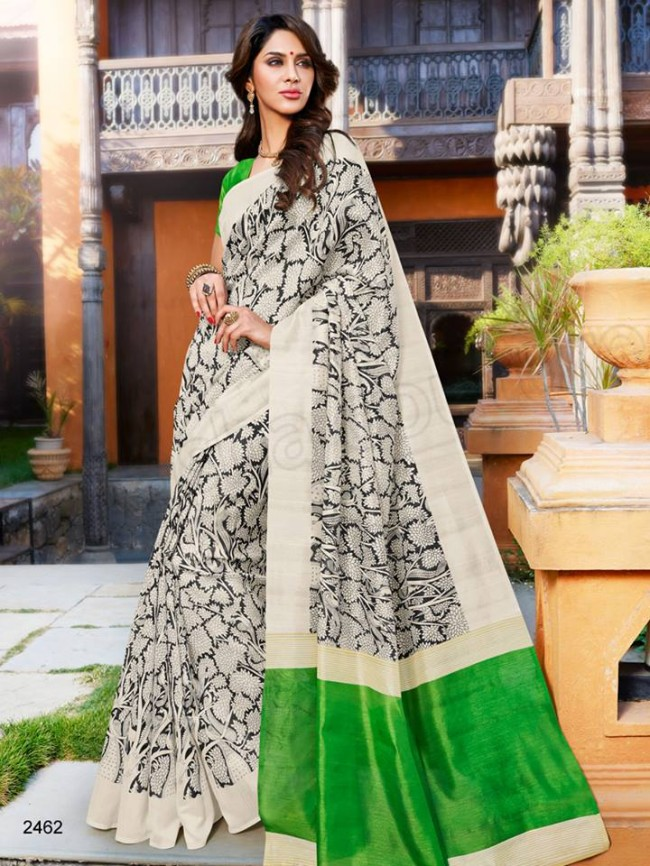 New Latest Bhagalpuri Elegant Saris-Sarees Dress By Natasha Couture-1