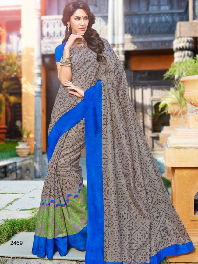 New Latest Bhagalpuri Elegant Saris-Sarees Dress By Natasha Couture-3