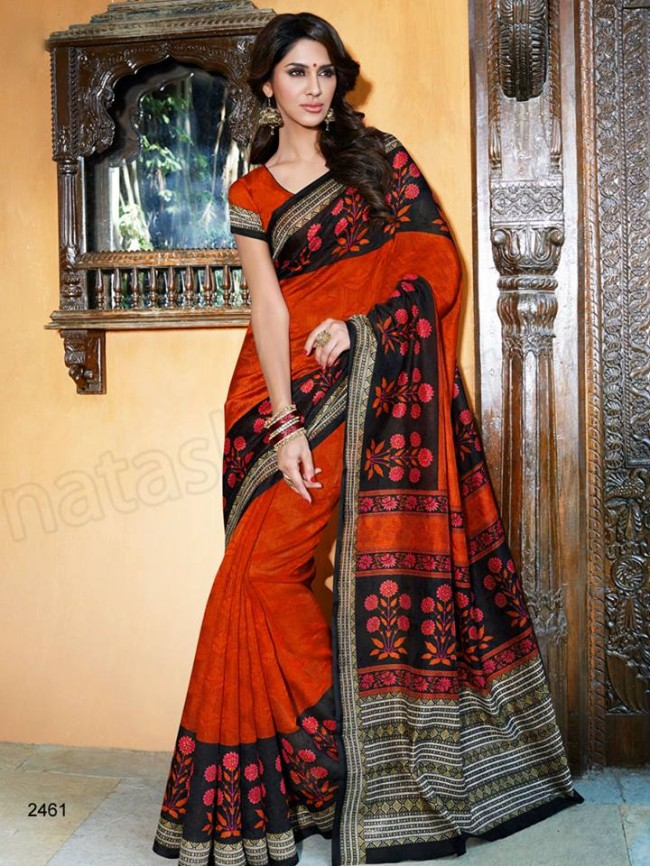 New Latest Bhagalpuri Elegant Saris-Sarees Dress By Natasha Couture-6