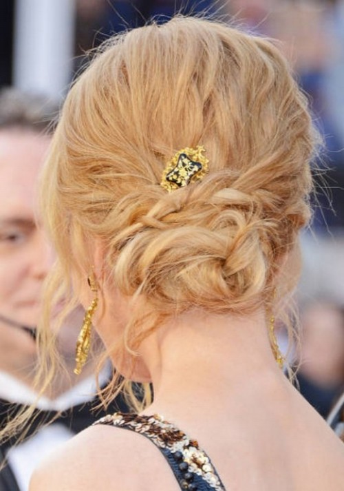 Stylish Western Wedding-Bridal Hairstyles for for Brides and Night-Evening Party Receptions-3