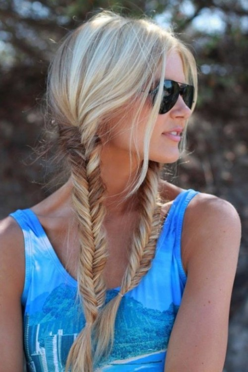 Stylish Western Wedding-Bridal Hairstyles for for Brides and Night-Evening Party Receptions-6