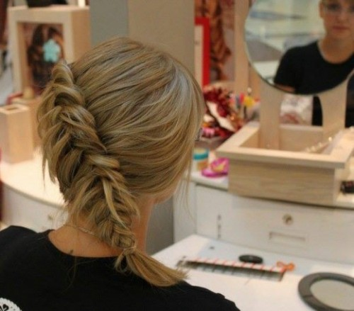 Stylish Western Wedding-Bridal Hairstyles for for Brides and Night-Evening Party Receptions-