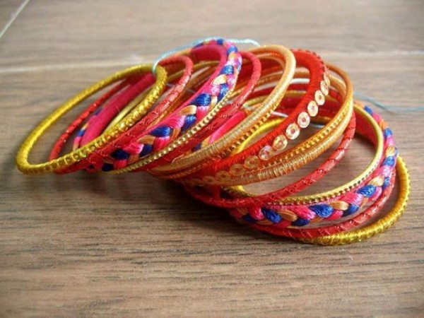 Beautiful Wedding-Bridal Wear Printed-Colorful Bracelet-Kangan-Bangles By Somi's Style-2