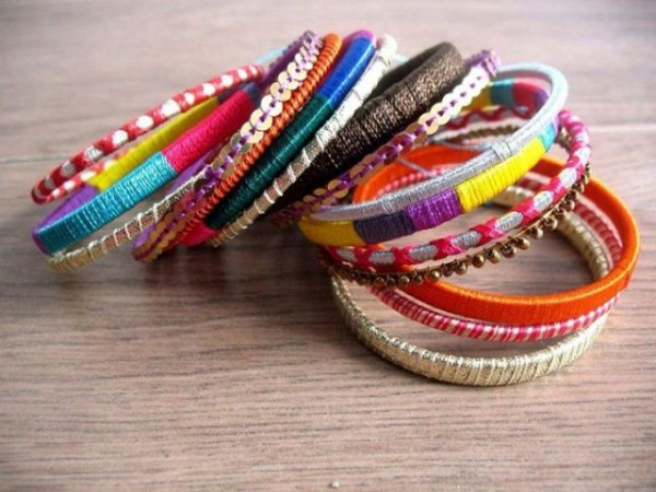 Beautiful Wedding-Bridal Wear Printed-Colorful Bracelet-Kangan-Bangles By Somi's Style-3