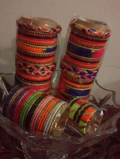 Beautiful Wedding-Bridal Wear Printed-Colorful Bracelet-Kangan-Bangles By Somi's Style-6