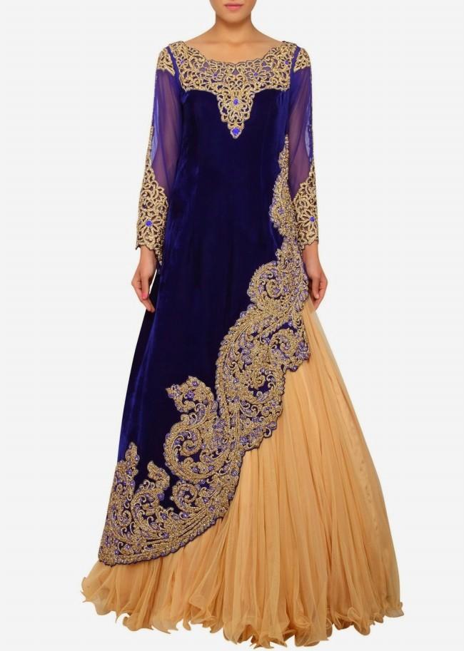 Engagement Wear Lehanga-Choli and Sharara Collection by New Fashion Dress Designer Kalkifashion-1